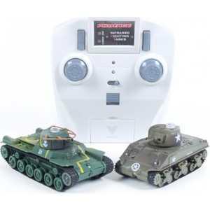Танковый бой Pilotage ''Type 97 и Sherman'', ИК управление, (1:72), микро RC13224