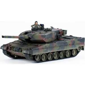 Танк Pilotage ''Leopard II'', р/у, (1:24), камуфляж NATO, пневмо пушка RC8131