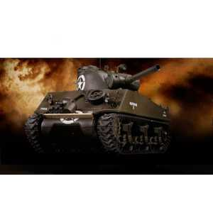Танк Pilotage ''Sherman'', р/у, (1:24), M4 (зеленый) пневмо пушка, RTR. RC8343