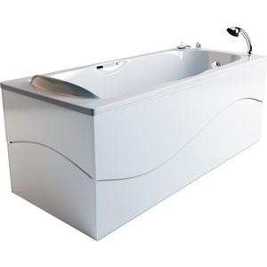 Ванна из литого мрамора Фэма Стиль Алассио 180 181х75 см ванна из литого мрамора фэма стиль айсберг 180х80 см