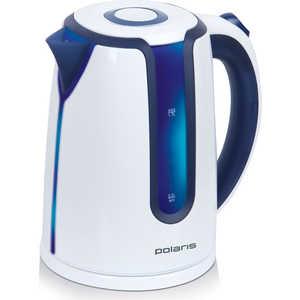 Чайник электрический Polaris PWK 1754CLWR чайник polaris pwk 1754 clwr 2200 вт 1 7 л пластик белый синий