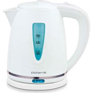 Чайник электрический Polaris PWK 1038C, белый чайник электрический polaris pwk 1752c зеленый белый