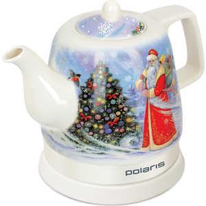 Чайник электрический Polaris PWK 1299CCR, Дед мороз