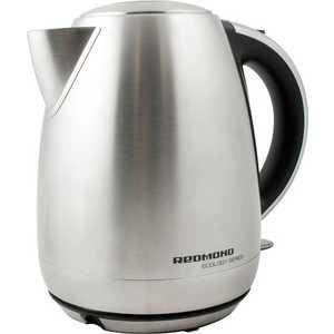 Чайник электрический Redmond RK-M113, серебристый электрический чайник redmond rk g167