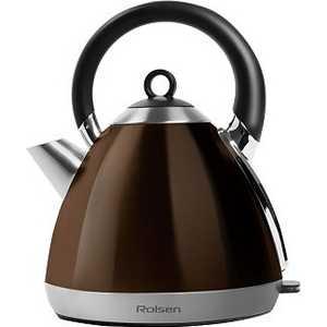 Чайник электрический Rolsen RK-2712M, коричневый