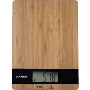 Кухонные весы Scarlett SC-KS57P01 весы напольные scarlett sc bsd33e894