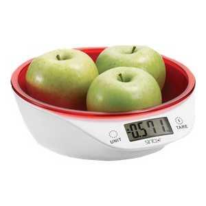 Кухонные весы Sinbo SKS-4521, красный