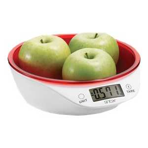 все цены на  Кухонные весы Sinbo SKS-4521, красный  онлайн