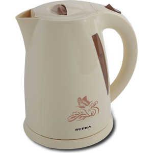 Чайник электрический Supra KES-1705, бежевый