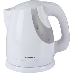 Чайник электрический Supra KES-1725, белый чайник электрический supra kes 1231 серебристый