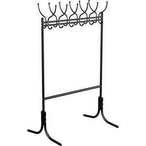 Вешалка напольная Мебелик М 11 черный цена и фото