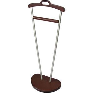 Вешалка костюмная Мебелик Д 9 металлик/темно-коричневый