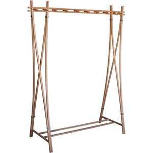 Вешалка напольная Мебелик Рилле 421, бук