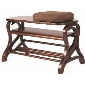 Обувница Мебелик Диана средне-коричневый диана килина коллекционер isbn 9785447438326