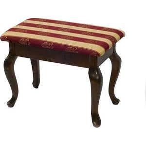 Банкетка Мебелик Ретро с ящиком, тёмно-коричневый