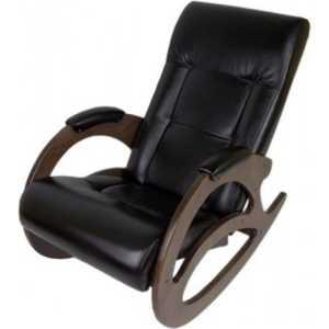 Кресло-качалка Мебелик Тенария 1, эко-кожа венге