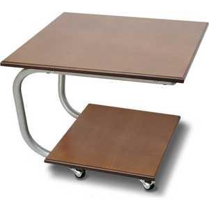 Стол журнальный Мебелик Дуэт 11М, средне-коричневый