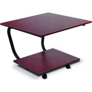 Стол журнальный Мебелик Дуэт 11М, тёмно-коричневый