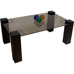 Стол журнальный Мебелик Приз 2Н, венге тонированное без иероглифа