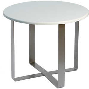 Стол журнальный Мебелик Саут 9Д, белый ясень