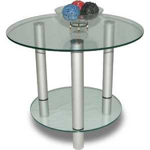 Стол журнальный Мебелик модель Танго прозрачное стекло профессиональная активная акустика eurosound esm 15bi m