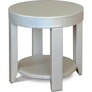 Стол журнальный Мебелик Сакура 1, эко-кожа/ слоновая кость