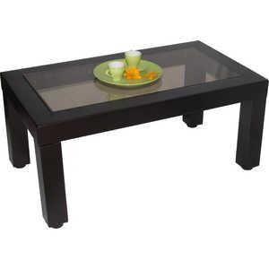 Стол журнальный Мебелик Сакура 3 эко-кожа/венге банкетка мебелик оливия эко кожа молочный венге