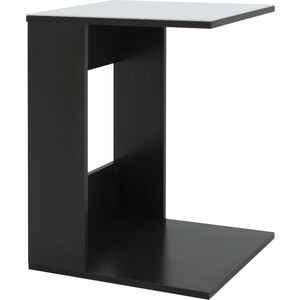Стол журнальный Мебелик BeautyStyle 3 венге/стекло белое раздвижной большой стеклянный обеденный стол кубика нагано 2 стекло стекло темно коричневое венге