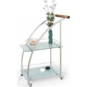 Стол сервировочный Мебелик Баккара металлик/матовое шатура стол сервировочный баккара металлик  матовое
