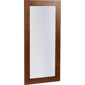 Зеркало навесное Мебелик Берже 24-90, темно-коричневый