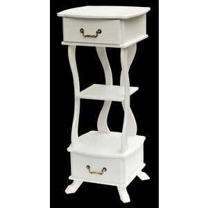 Подставка Мебелик Берже 14 белый ясень мебелик берже 27