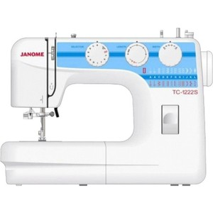 Швейная машина Janome TC 1222S швейная машина janome tc 1216s белый tc 1216s