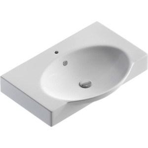 Раковина мебельная Sanita Infinity 65 (Signo) белая с/о (27237)  sanita лира белая