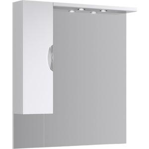 Зеркало-шкаф Aqwella ЭкоЛайн 105 с подсветкой (Eco-L.02.10) aqwella анкона 25 глянец бордо