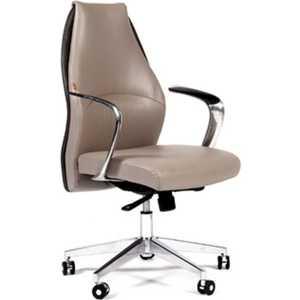 Кресло офисное Chairman Basic M светло-бежевый/темно-серый