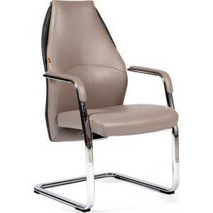 Офисный стул Chairman Basic V светло-бежевый/темно-серый от ТЕХПОРТ