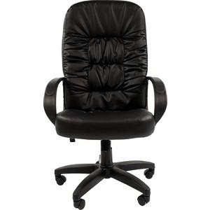 Офисный стул Chairman 416 ЭКО черный глянец от ТЕХПОРТ