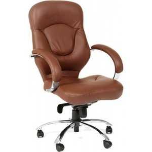 Офисное кресло Chairman 430 коричневый