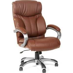 Офисное кресло Chairman 435 коричневый chairman chairman 435 lt