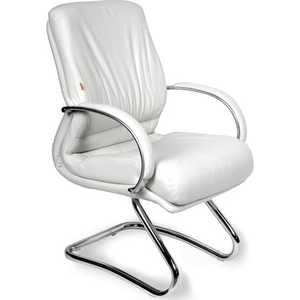 Офисный стул Chairman 445 кожа белый от ТЕХПОРТ