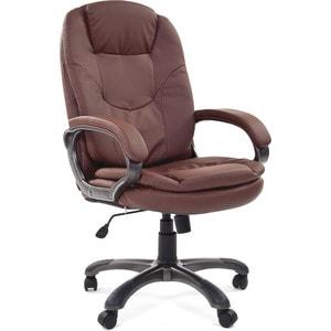 Офисное кресло Chairman 668 эко 0103 коричневый chairman 668 lt 6113129