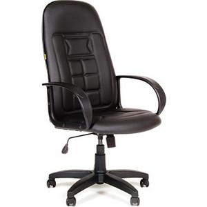 Офисное кресло Chairman 727 Терра матовый черный компьютерное кресло chairman 727 серый