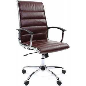 Офисное кресло Chairman 760 коричневый