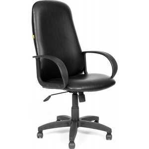 Офисное кресло Chairman 279 кож/зам черный
