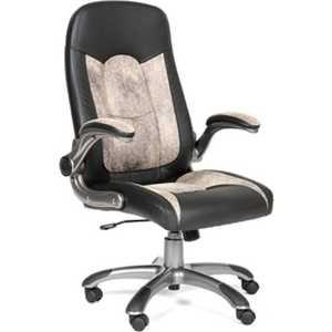 Офисное кресло Chairman 439 черный/бежевый