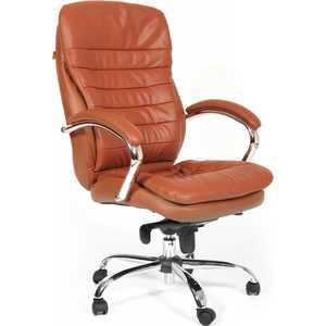 Офисное кресло Chairman 795 коричневый 795 696 796 1100