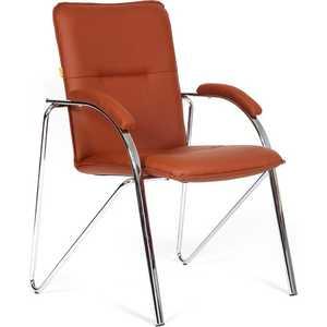 Офисный стул Chairman 850 экокожа Terra 111 коричневый (собр.)