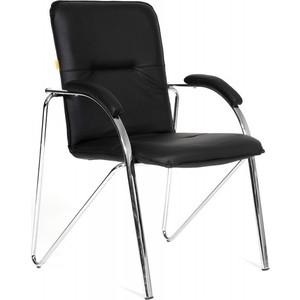 Офисный стул Chairman 850 экокожа 118 черная (собр.)