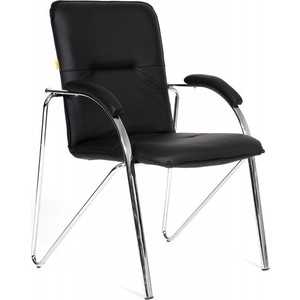 Офисный стул Chairman 850 экокожа 118 черная (собр.) от ТЕХПОРТ