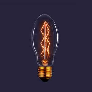 Декоративная лампа накаливания Estares Vintage ES-E55 40W 230V